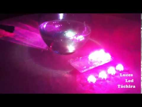 Luces led control ideales para centros de mesa youtube - Luces led a pilas para armarios ...
