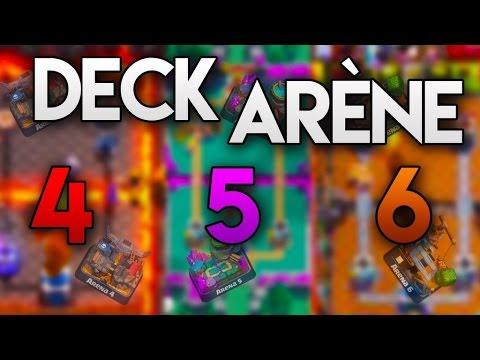 Les meilleurs deck pour arene 5 6 7 sans legendaire youtube for Deck arene 6 miroir