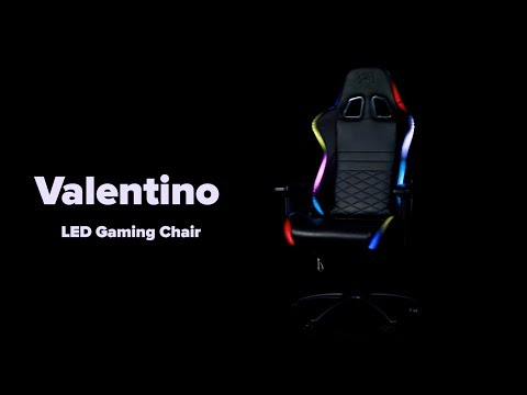 Don One Valentino (LED gaming stol)