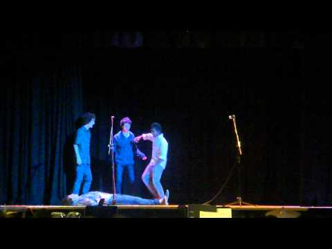 PAPN11 Year 9 Drama Class - 'Death In A Minute' theatresports part 2