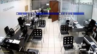 Тестовая видеозапись с AHD камеры AMATEK AC ADV133V