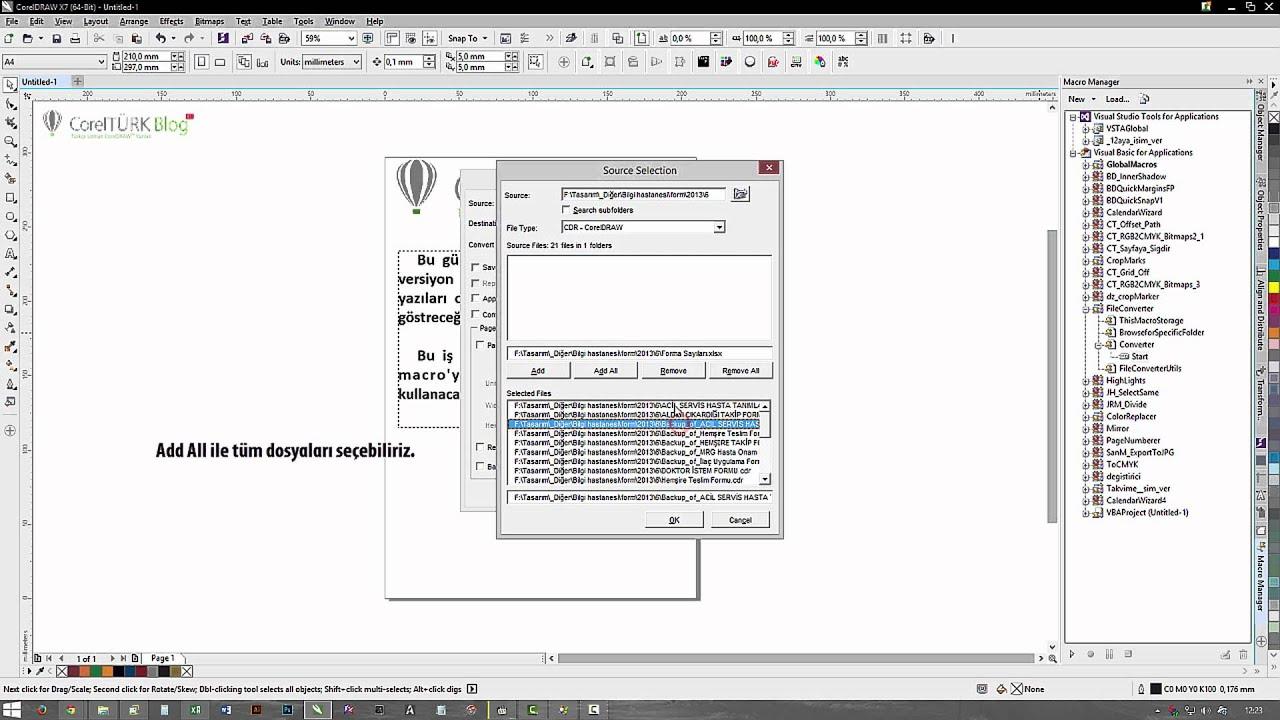 Macros for coreldraw x8 - Corel Draw Le File Convert Macro Kullan M