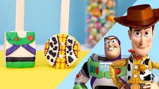 Toy Story Inspired Rice Crispy Pops | Disney Family
