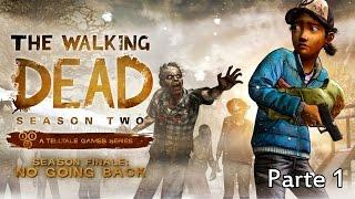 The Walking Dead - Temporada 2 - Episodio 5 - Parte 1 Walkthrough - Español (PC)