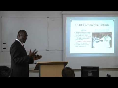 AIE Conference 2013 Innovation in Low Income Countries Panel: George Essegbey, STEPRI