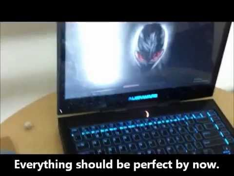 Alienware M14x Laptop LCD/screen Replacement