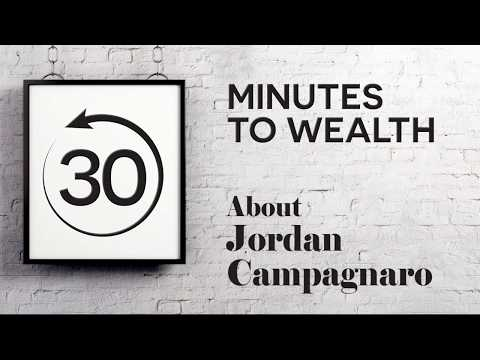 30 minutes to Wealth, About Jordan