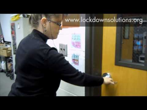 Lockdown Solutions Fast Classroom Security Youtube