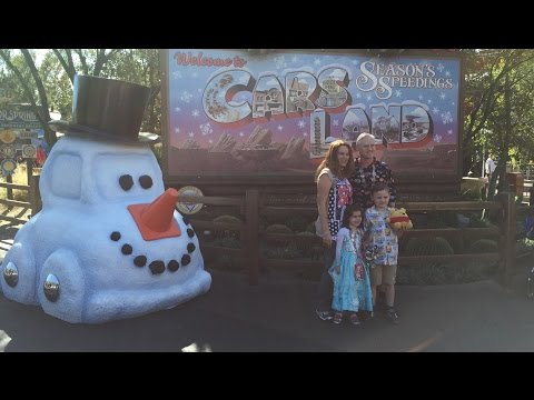 Disneyland California Adventure: California Screamin, Radiator Springs, Viva Navidad Holidays!