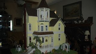 Grey's River Victorian Dollhouse, Designed By Noel Thomas, Shell Built By Ray Urh