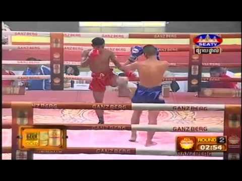 SEATV Boxing 07 June 2015   Khmer International Boxing Today   Khmer Vs Thai   Part 01