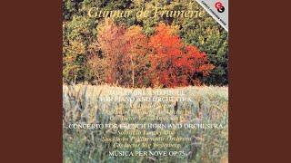 Musica per nove, Op. 75: III. Allegro misterioso