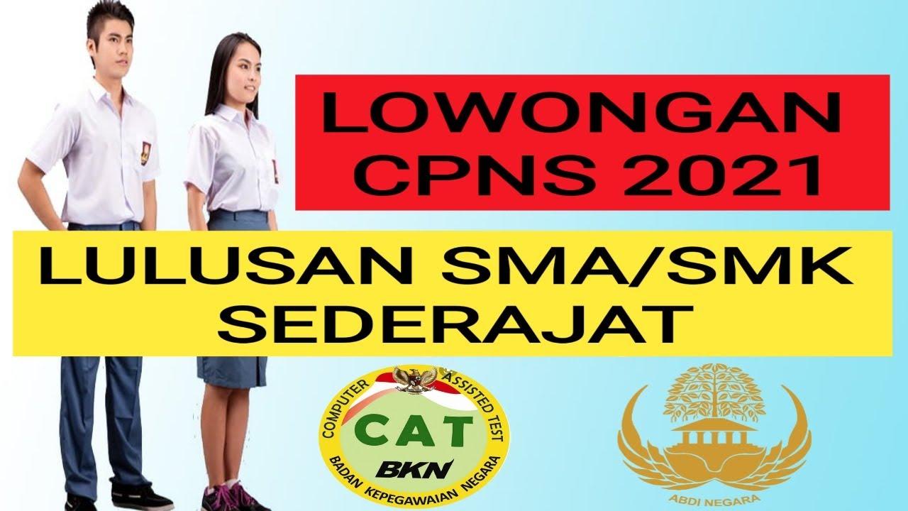 30++ Link pendaftaran cpns 2021 lulusan smasmk info