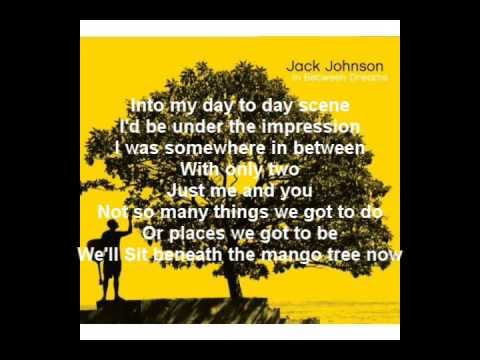 Jack Johnson  Better Together Lyrics