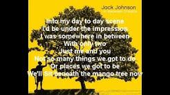 Jack Johnson - Better Together Lyrics