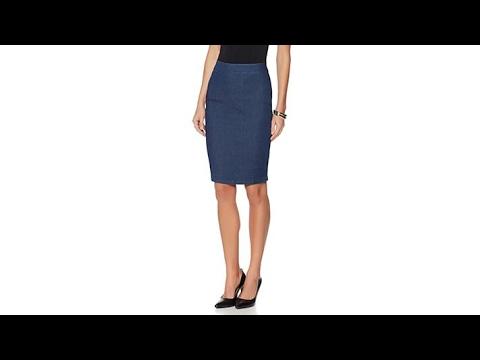 Wendy Williams Denim Pencil Skirt. http://bit.ly/2J6zsef