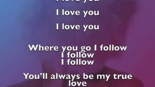 FULL - I Will Follow You - Tolouse Lyrics (Apple Balloons Comercial) COMPLETE SONG