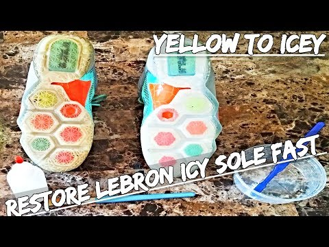 How To Restore  Icy Soles Fast & Easy 2018