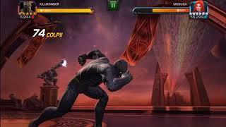 Killmonger vs medusa Mcoc