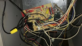 Hacked Up Circuit Board Found In Heating System