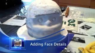 New York Jets Football Helmet Cake