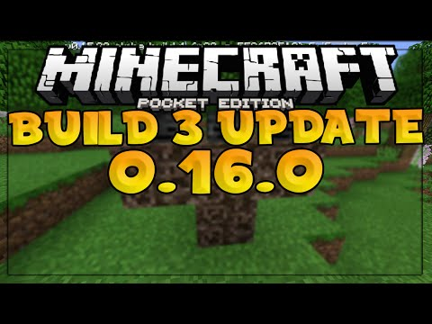 MCPE 0.16.0 BUILD 3 UPDATE! - WITHER BOSS CONFIRMED IN BUILD 4 - Minecraft PE (Pocket Edition)