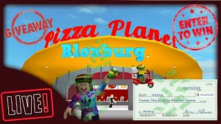 BLOXBURG - ROBLOX - WORKING GIVING MONEY ON BLOXBURG CHAQUE 20 MINUTE - GIVEAWAY- DONATION