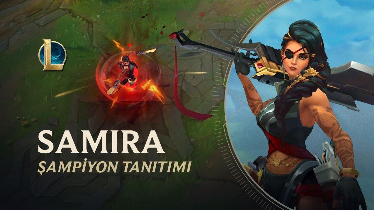Samira Şampiyon Tanıtımı | Oynanış - League of Legends