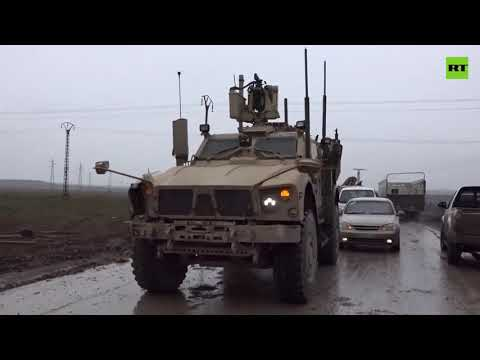 US Military Stops Russian Convoy In Syria From Reaching Iraq Border