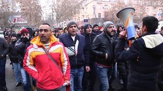 Բողոքի ակցիա հաց Բերող Արթուր Սարգսյանին ազատ արձակելու պահանջով