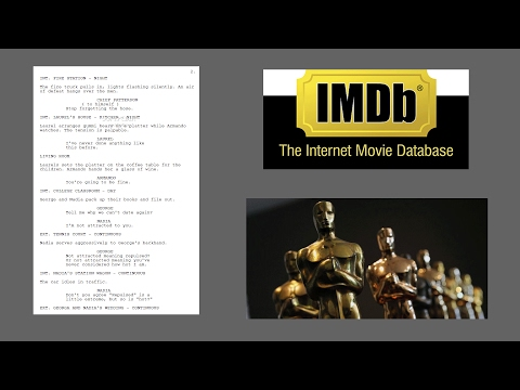 How to write a movie script screenplay using Final Draft