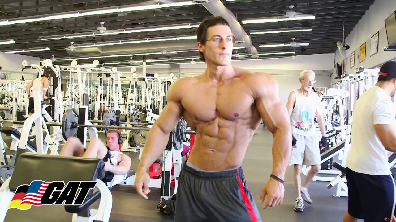 GAT Athlete IFBB Pro SADIK HADZOVIC Workout 3 with Dennis