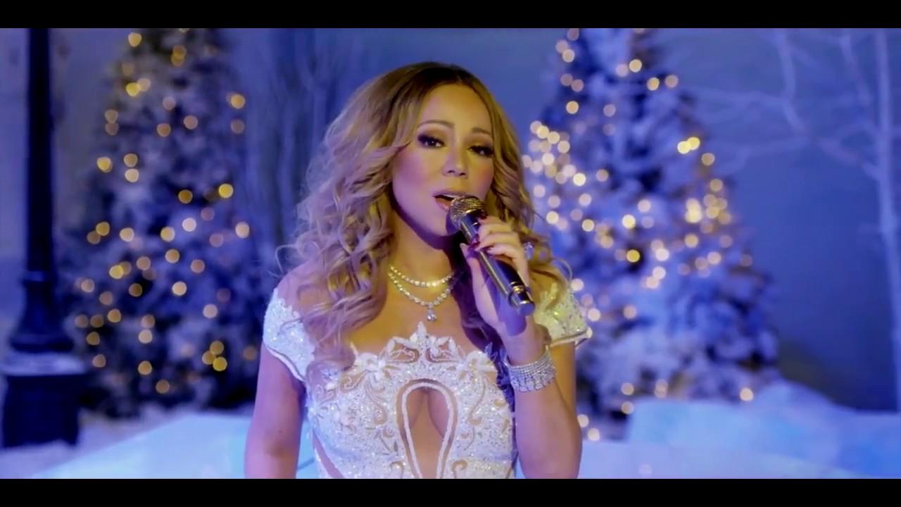 Mariah Carey Silent Night The Keys of Christmas - YouTube