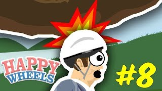 Funny Happy Wheels Fails! Only The Best Moments! Happy Wheels Wednesday! #8