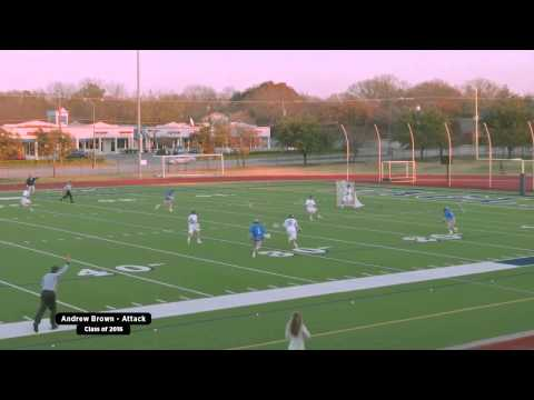 Andrew Brown (2016) Lacrosse Highlights 2015