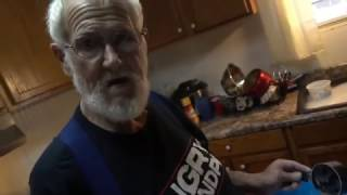 Angry Grandpa Is On Helium - Christmas Cookie Disaster