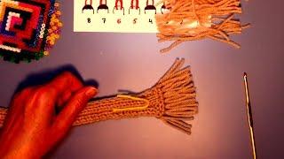 Учимся вязать для куклы - 3-й урок для девочек - для тех, кто не умеет вязать, но хочет научиться