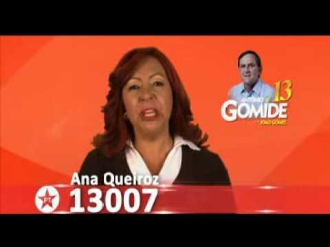 Propaganda eleitoral gratuita da televisão - Ana Queiroz 13007