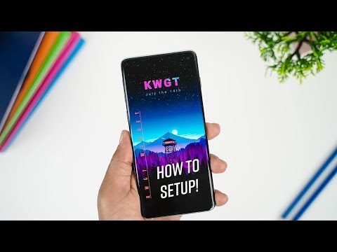 How To Setup KWGT Widget 2019 | Pro & Free Version