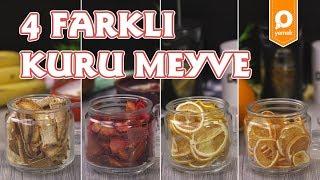 4 Farklı Kuru Meyve Tarifi - Onedio Yemek - Tek Malzeme Çok Tarif