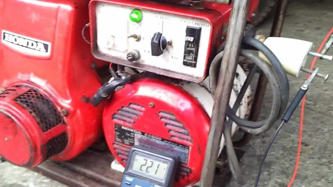 generator honda e2500 mp4 youtube rh youtube com honda e3500 generator manual honda e2500 generator manual