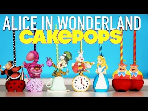 MAD HATTER Cake Pops | How to Make Alice in Wonderland Tea Party Cakepops | Elise Strachan