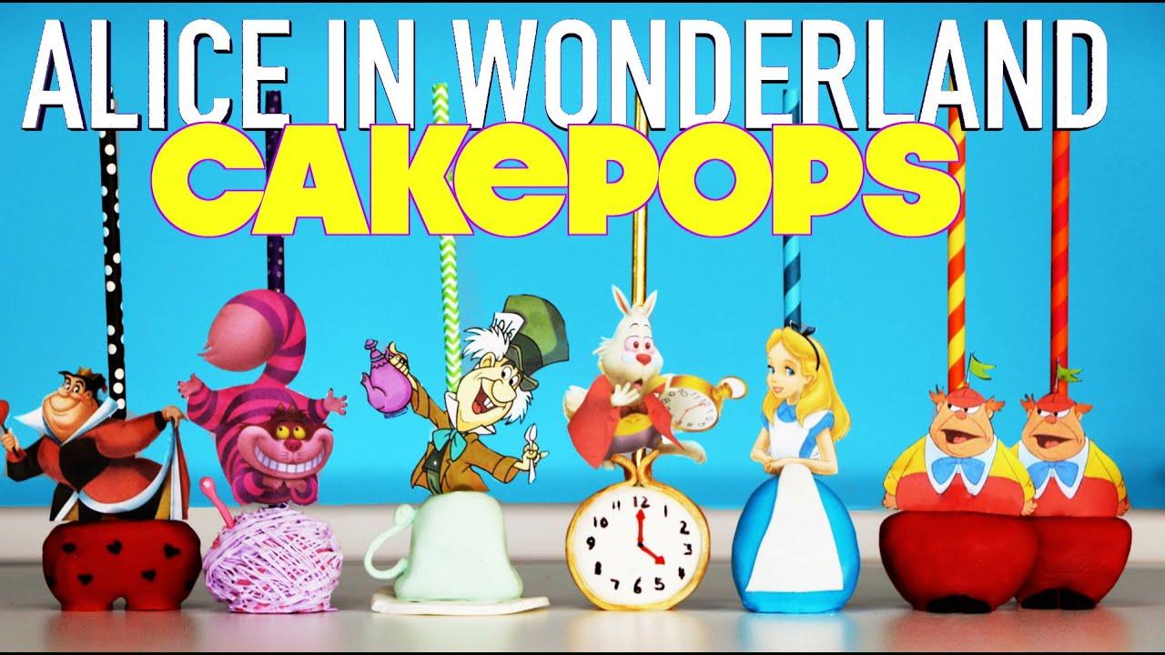 Alice Wonderland Cake Pops