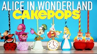 MAD HATTER Cake Pops | How to Make Alice in Wonderland Tea Party Cakepops | Elise Strachan