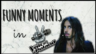 Michał Szpak- Funny moments in The Voice of Poland #7