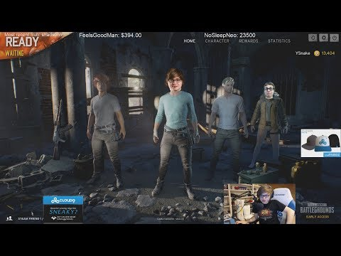 Sneaky and Jensen trolling in PUBG #2 Ft Yassuo,Jonny,Contractz and Smoothie