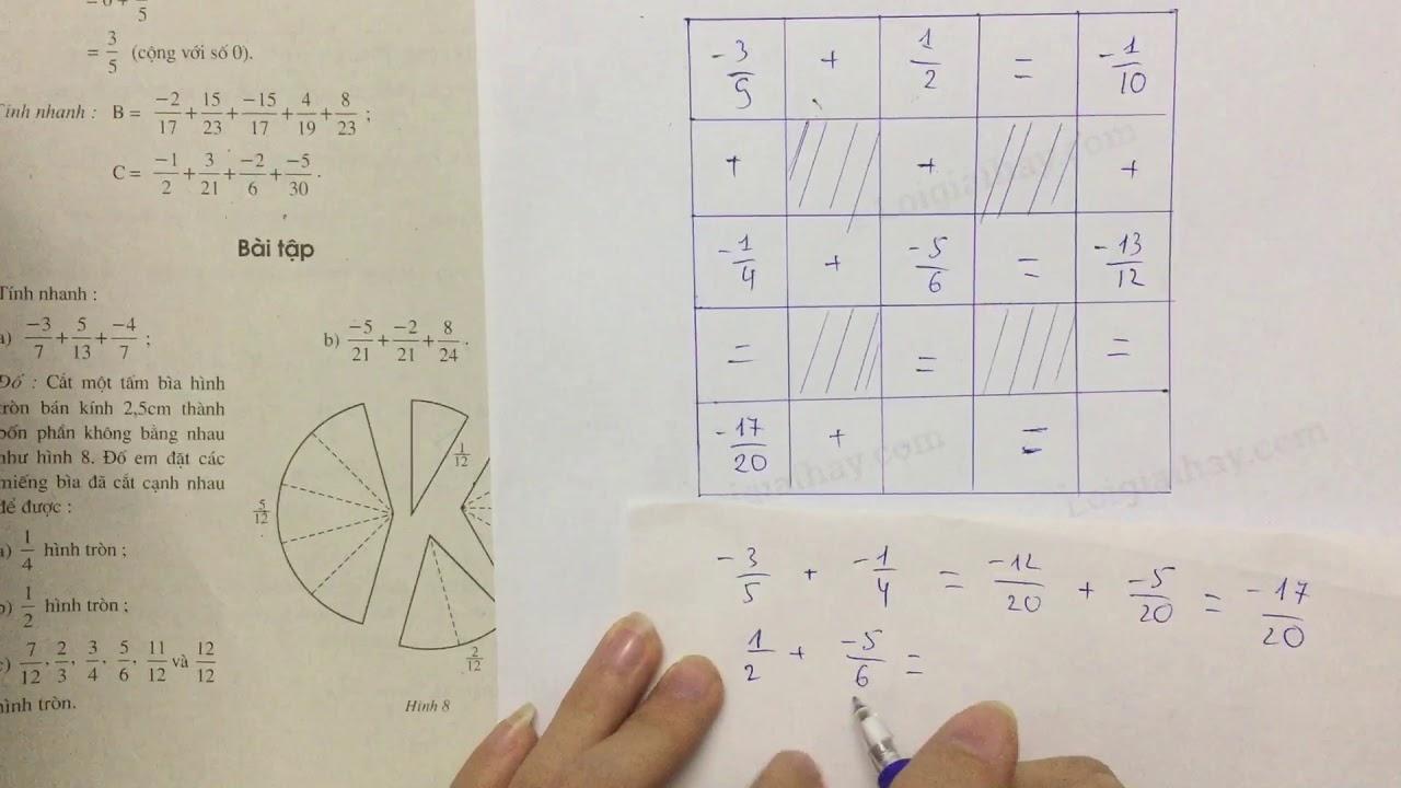 Giải bài 50 trang 29 SGK toán 6 tập 2