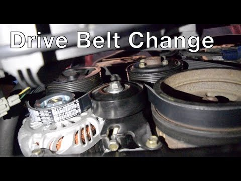 Drive / Serpentine Belt Replacement Infiniti G35/350z ...