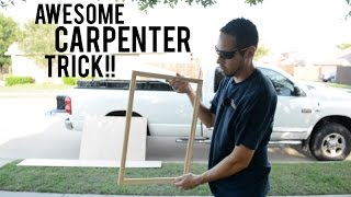 """How to """"Lock Nail"""" - Finish Carpentry"""