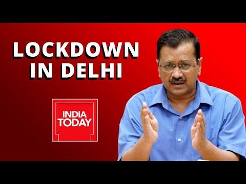 Arvind Kejriwal Press Conference Announcing Complete Lockdown In Delhi | Watch Full Video